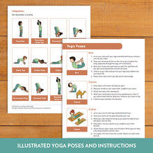 Load image into Gallery viewer, Love and Compassion Yoga Sequence for Tweens/Teens
