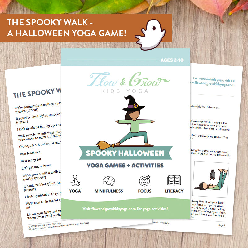 Spooky Halloween: Yoga Games and Activities