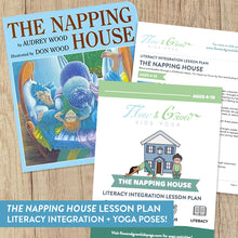 "Load image into Gallery viewer, ""The Napping House"" Literacy Integration Lesson Plan"