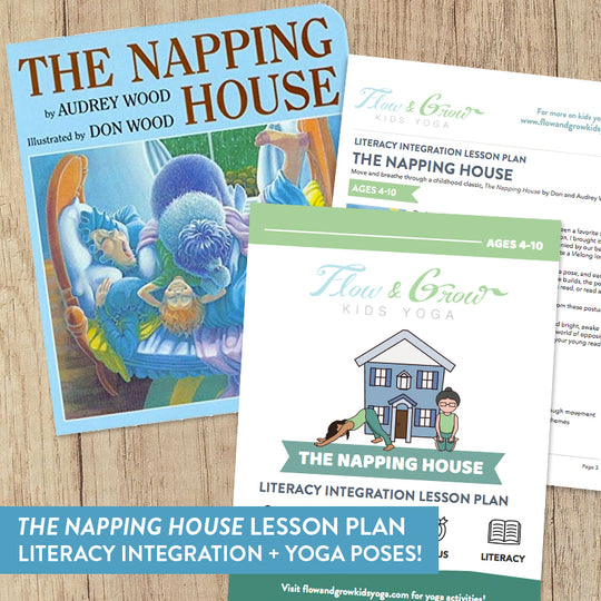 """The Napping House"" Literacy Integration Lesson Plan"