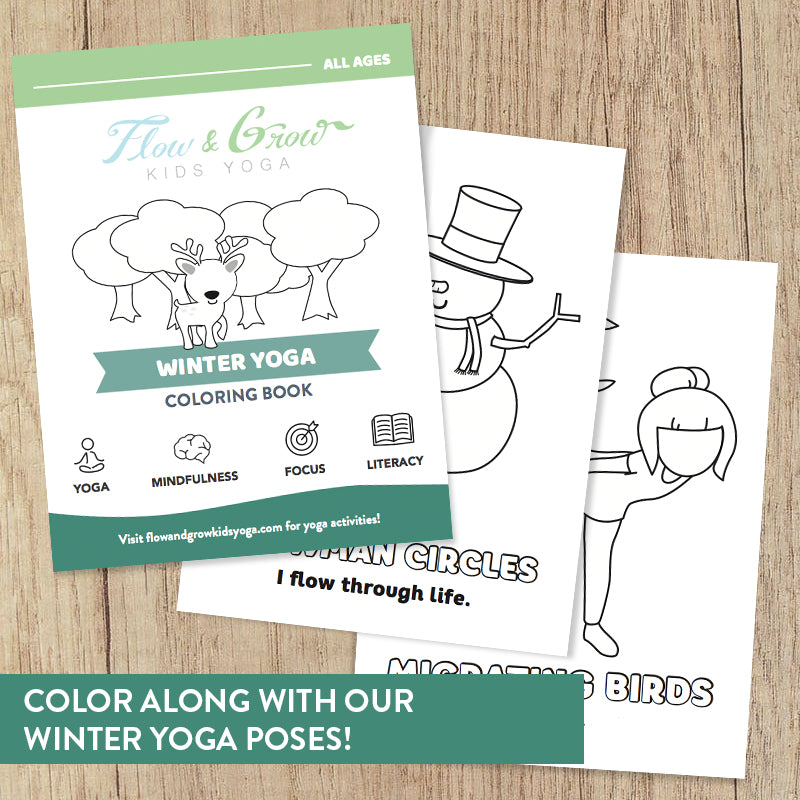 Winter Yoga Coloring Book For Kids Learn Yoga And Mindfulness Flow And Grow Kids Yoga We have no control over the content of these pages. winter yoga coloring book