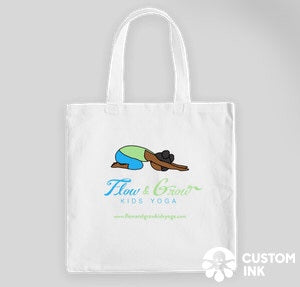 Flow and Grow Tote Bag