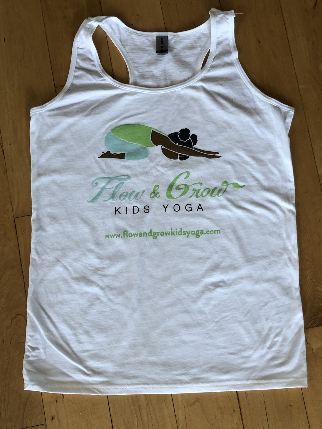 Flow and Grow Kids Yoga Tank