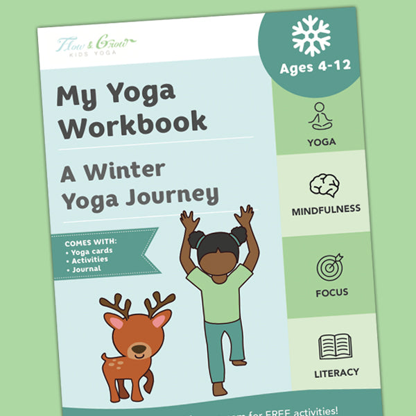My Yoga Workbook: A Winter Yoga Journey