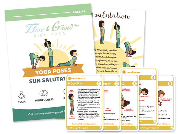 Flow and Grow Kids Yoga - Yoga, Mindfulness and SEL for children