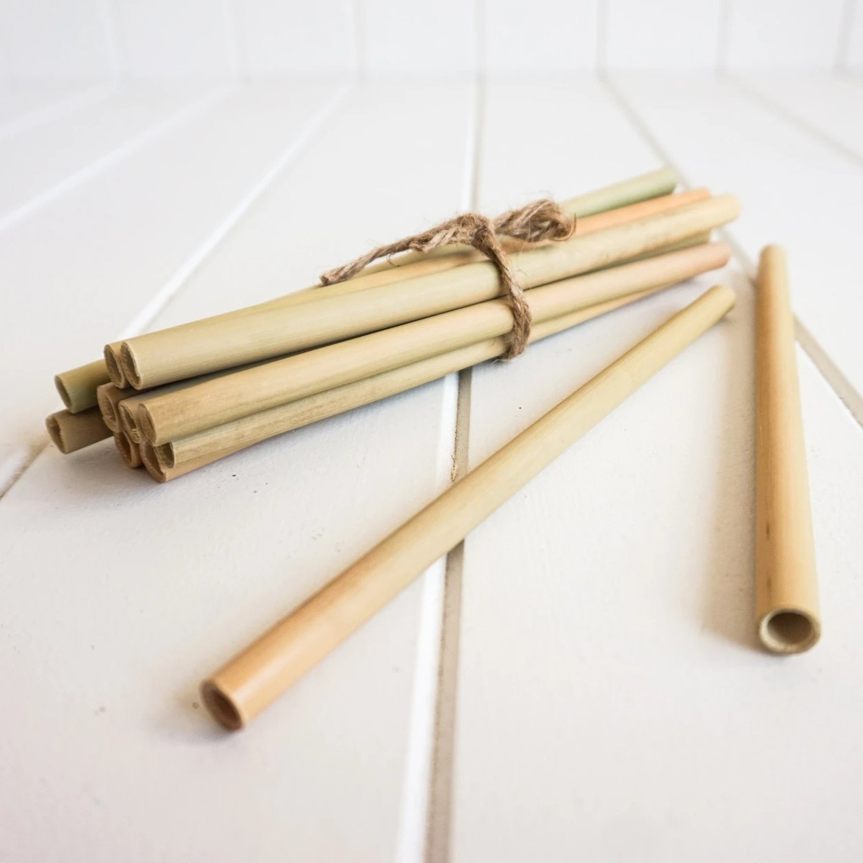 Bamboo Straws, Set of 12. Reduce use of plastic straws and use the eco friendly straws. Perfect!