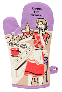 Oops I'm Drunk Oven Mitts. The perfect gift idea or for Mother's Day! Perfect for lovers or wine