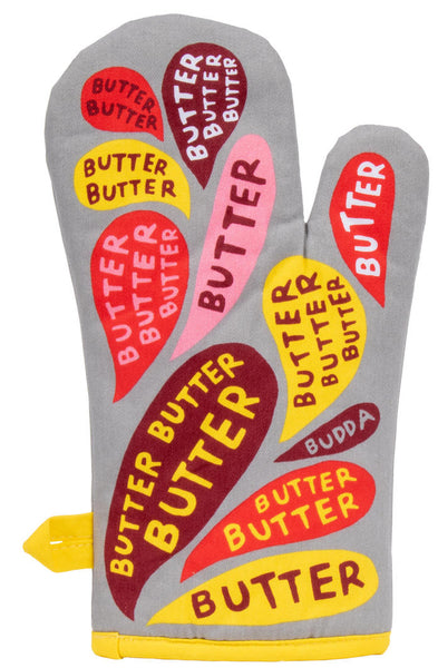 Butter lovers Oven Mitts. Colour and so funny! Best gift. Oven Mitts online Hello Bella Lifestyle