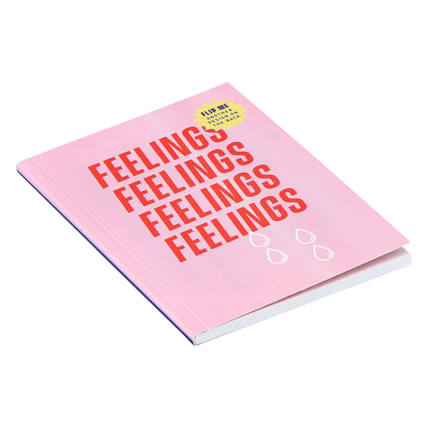 Feelings small mini journal or notebook. Perfect for writing thoughts and feelings. Cute, adorable