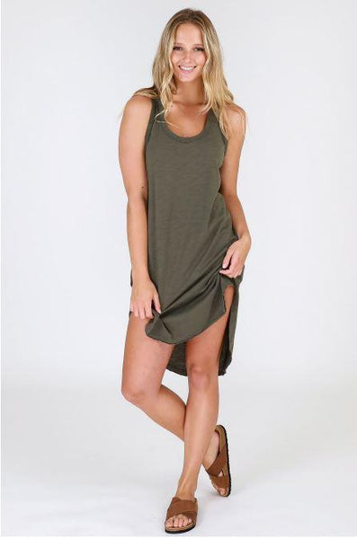 Shop the Abercrombie Khaki Tunic Dress at Hello Bella Lifestyle online store for affordable fashion