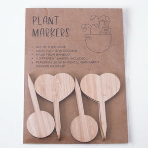 Bamboo Plant tags, perfect for herbs and spices. great gift idea.