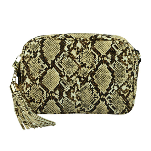 PETA AND JAIN Gracie Snake Crossbody Bag