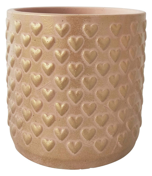 Hearts everywhere! This pretty in pink Heart Planter is perfect for showing off your love of love.