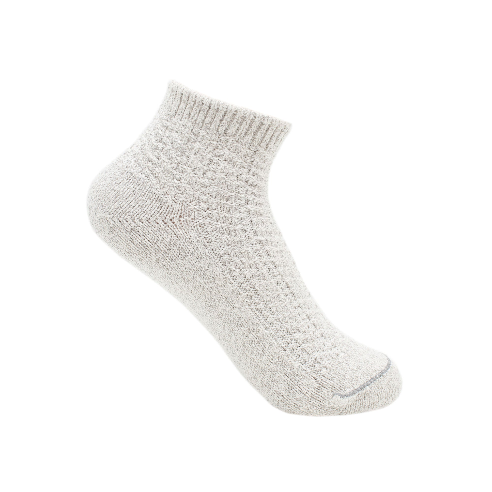 Plush Footie Sock - Natural