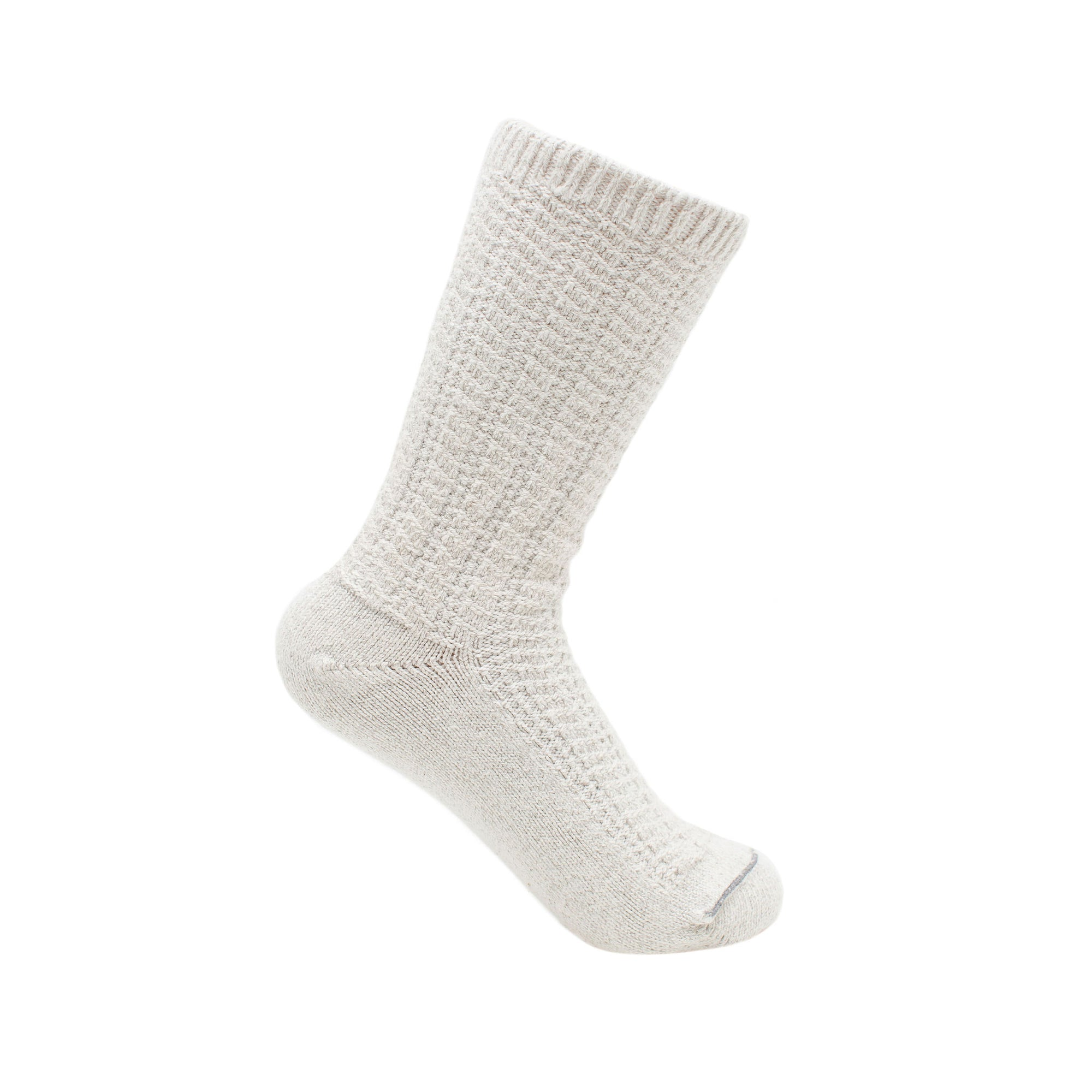 Plush Crew Sock - Natural