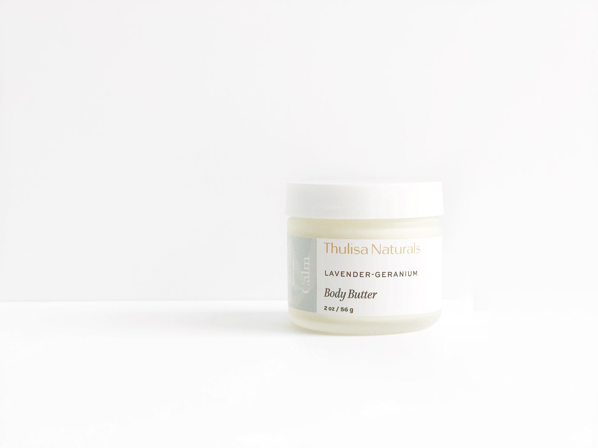 Calming Lavender-Geranium Body Butter