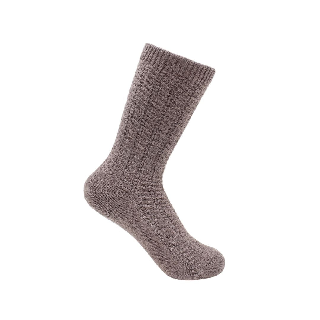 Plush Crew Sock - Iron Gray