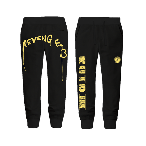 ROTD III Black Sweatpants