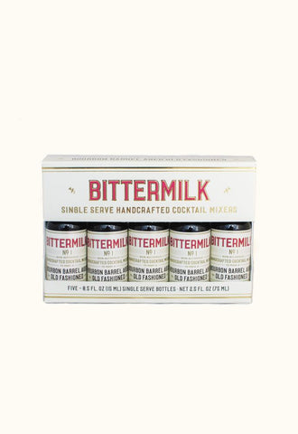 Bittermilk Bourbon Barrel Aged 5 Pack - Small Batch Foody