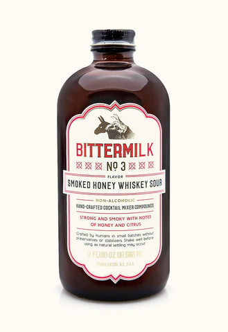 Bittermilk Smoked Honey Whiskey Sour - Small Batch Foody