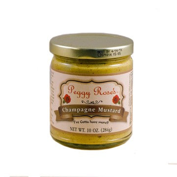 Peggy Rose's Champagne Mustard - Small Batch Foody