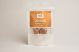 Postre Caramels Sourwood Honey - Small Batch Foody