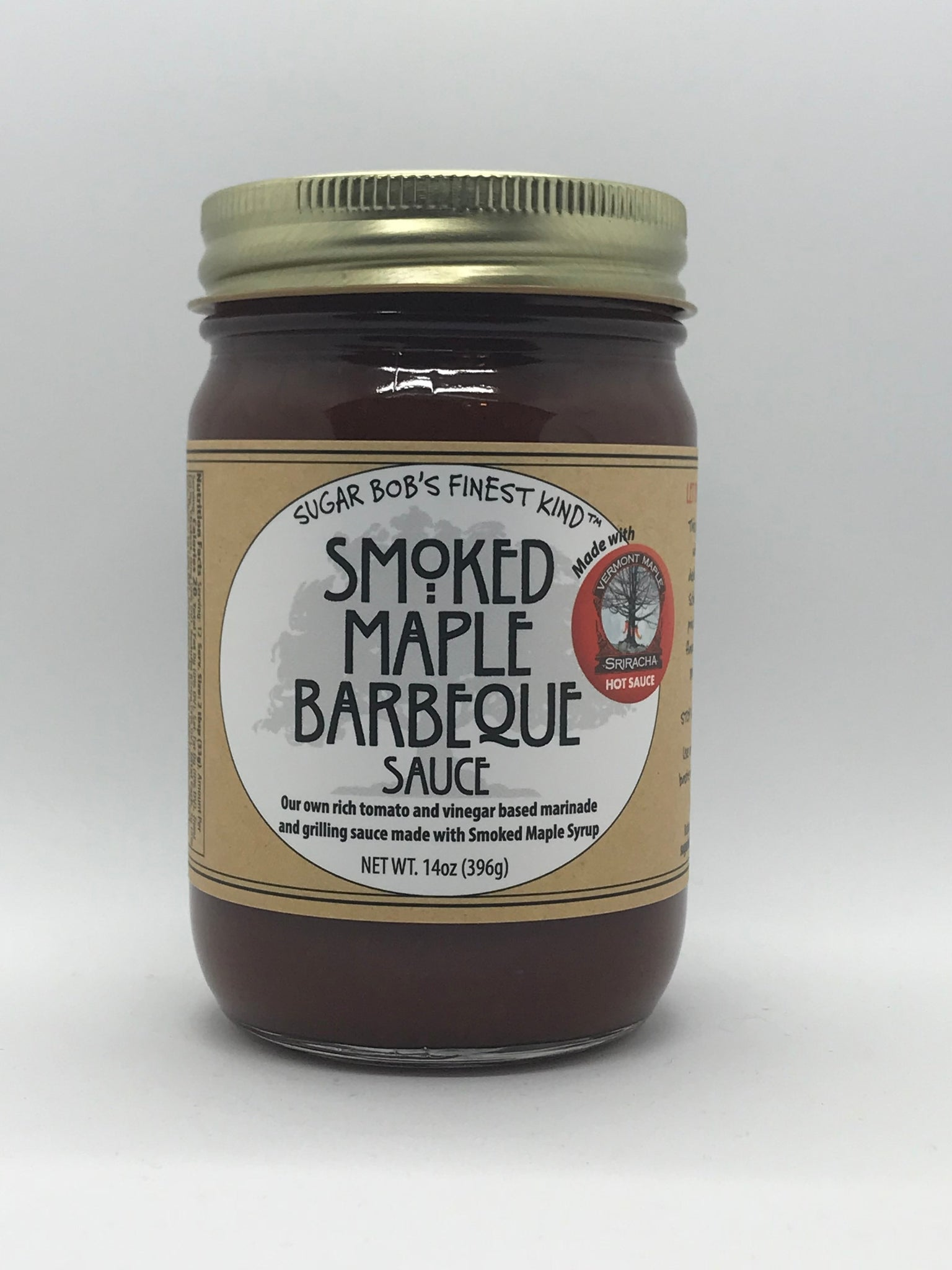 Sugar Bob's Smoked Maple Barbeque Sauce - Small Batch Foody