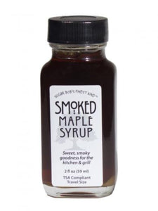 Sugar Bobs Smoked Maple Syrup 2 oz - Small Batch Foody