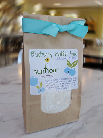 Sunflour Baking Company Blueberry Muffin Mix - Small Batch Foody