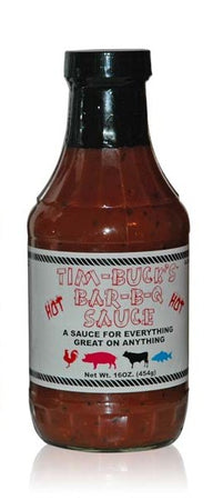 Tim-Buck's Bar-B-Q Sauce Hot - Small Batch Foody