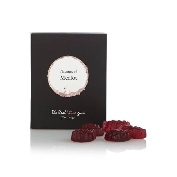 Vinoos The Real Wine Gummies Merlot - Small Batch Foody