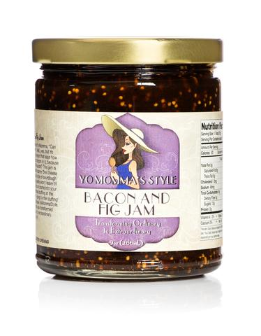 Yo Momma's Style Bacon And Fig Jam - Small Batch Foody