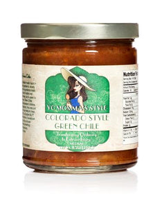 Yo Momma's Style Colorado Style Green Chile - Small Batch Foody