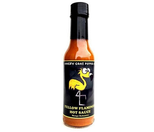 Angry Goat Pepper Co Yellow Flamingo Hot Sauce - Small Batch Foody
