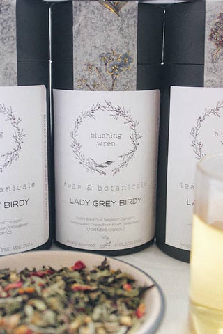 Blushing Wren Tea & Botanicals Lemon Grey Birdy - Small Batch Foody