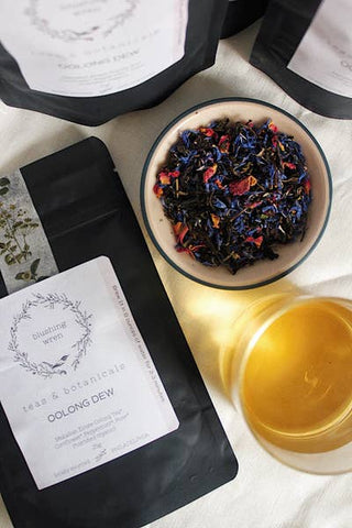 Blushing Wren Tea & Botanicals Oolong Dew - Small Batch Foody