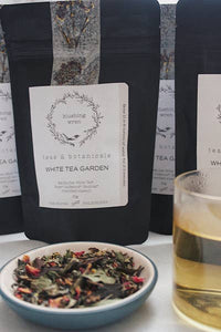Blushing Wren Tea & Botanicals White Tea Garden - Small Batch Foody