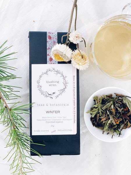 Blushing Wren Tea & Botanicals Winter - Small Batch Foody