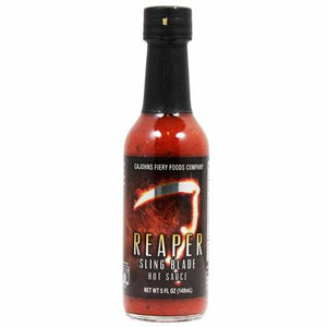 CaJohns Fiery Foods Reaper Sling Blade Hot Sauce - Small Batch Foody