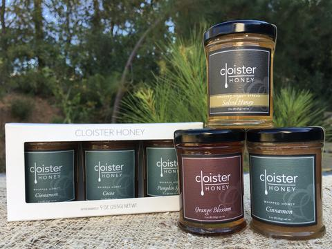 Cloister Honey Trio Gift Box - Small Batch Foody
