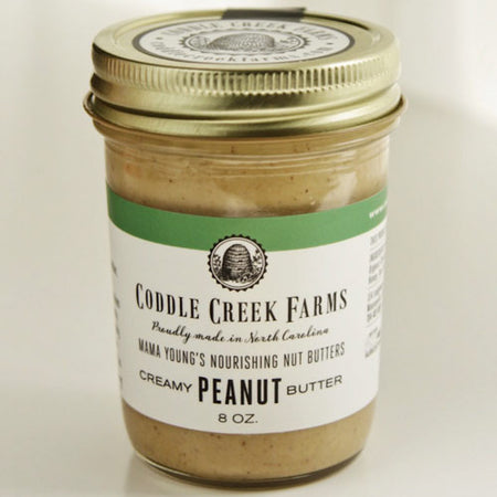 Coddle Creek Farms Creamy Peanut Butter - Small Batch Foody