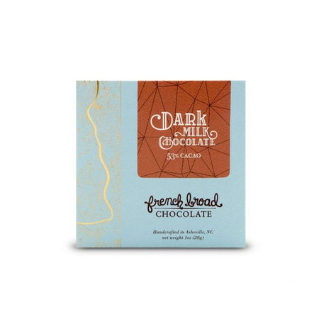 French Broad Chocolate Dark Milk 1 oz - Small Batch Foody
