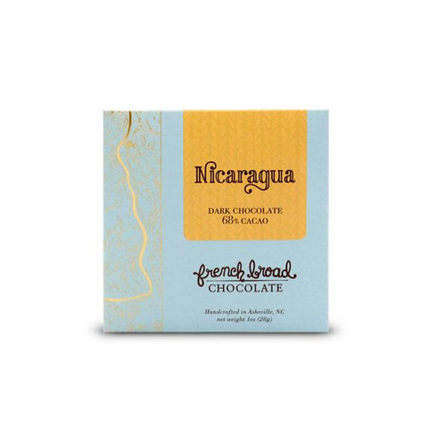 French Broad Chocolate Nicaragua 1 oz - Small Batch Foody