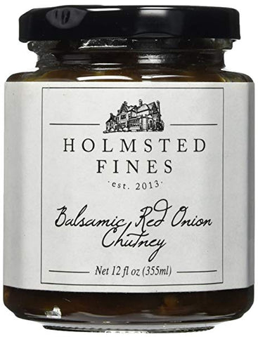 Holmsted Fines Balsamic Red Onion Chutney - Small Batch Foody