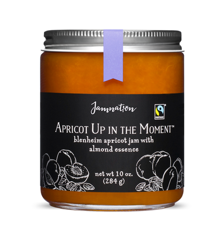 Jamnation Apricot Up In The Moment 10 oz - Small Batch Foody