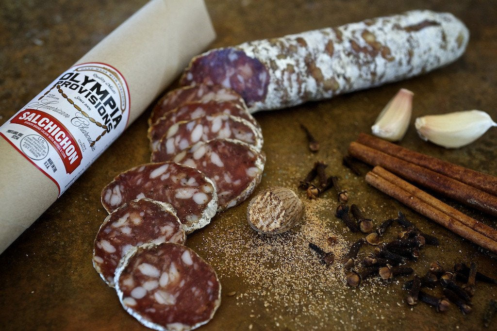 Olympia Provisions Spanish Salchichon - Small Batch Foody