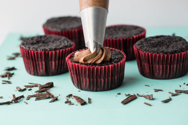 Pastrybase Lilly Bean Gluten Free Vegan Chocolate Cupcake Mix - Small Batch Foody