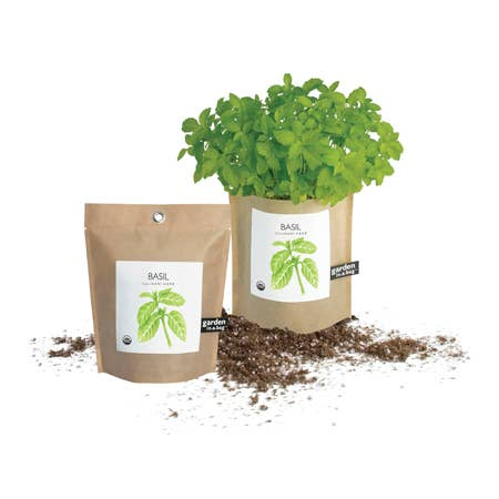 Potting Shed Creations Garden in a Bag Basil - Small Batch Foody