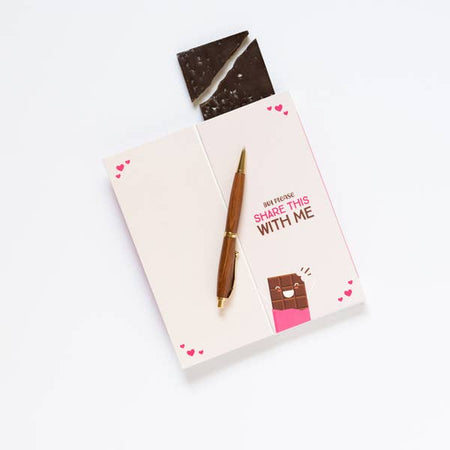 Sweeter Cards I Love You More Than Chocolate - Small Batch Foody