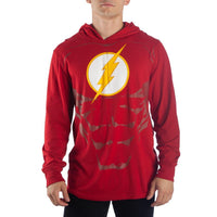Flash Hoodie DC Comics Cosplay Flash Gift - DC Comics Hoodie Flash Cosplay